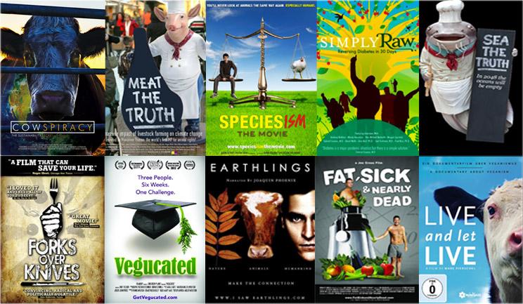 Top 10 Filme zu Veganismus